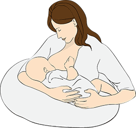 Woman's Breast: Breast Cancer Awareness - Mother's Milk